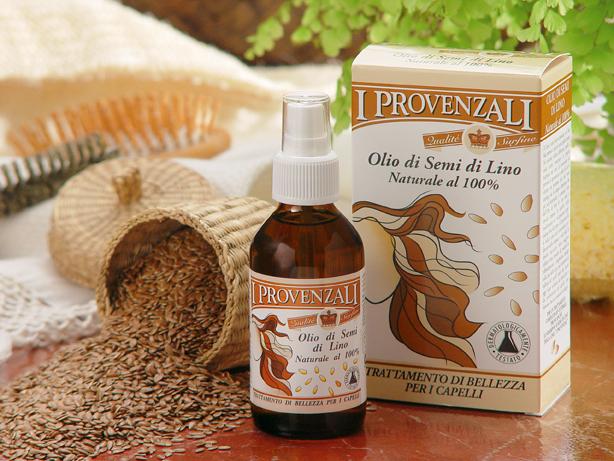 Scheda inci Olio di semi di lino I Provenzali | Cosmetica Naturale